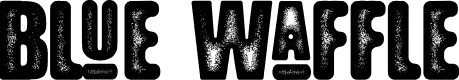 Preview image for Blue Waffle Font