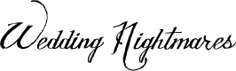 Preview image for Wedding Nightmares Personal Use Italic Font