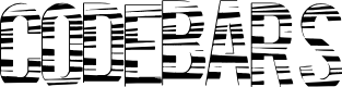 Preview image for CodeBars Font