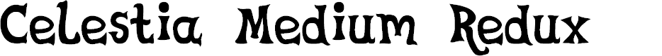 Preview image for Celestia Medium Redux Font