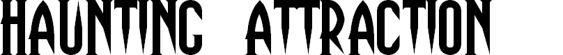 Preview image for Haunting Attraction Font