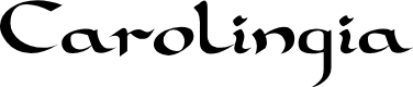 Preview image for Carolingia Font