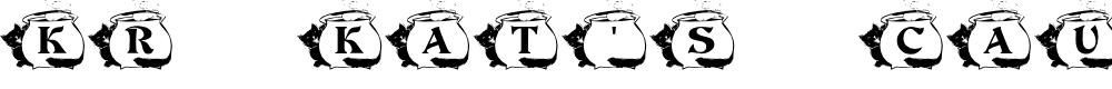 Preview image for KR Kat's Caulron Font
