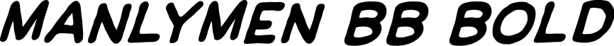 ManlyMen BB Bold