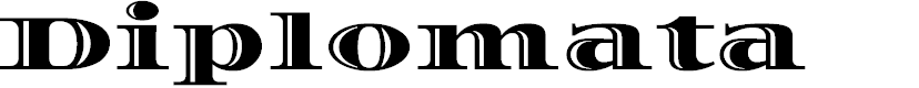 Preview image for Diplomata Font