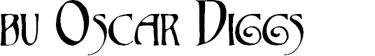 Preview image for bu Oscar Diggs Font