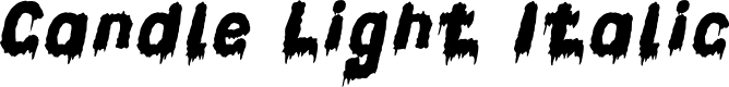 Preview image for Candle Light Italic