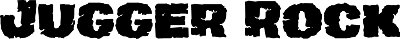 Preview image for Jugger Rock Font