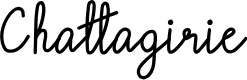 Preview image for Chattagirie Font