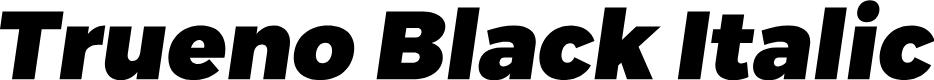 Preview image for Trueno Black Italic