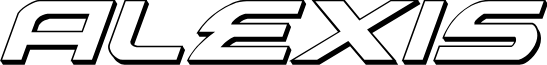 Alexis 3D Italic