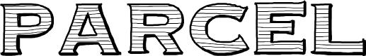 Preview image for Parcel Font