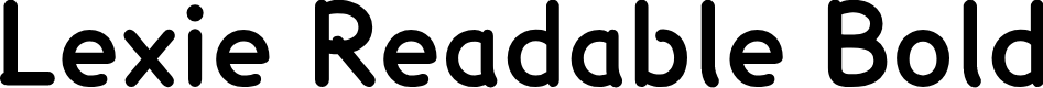 Preview image for Lexie Readable Bold Font