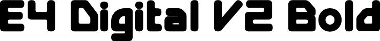 Preview image for E4 Digital V2 Bold
