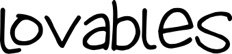 Preview image for Lovables Font