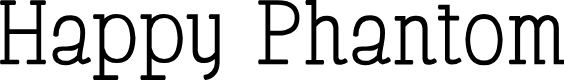 Preview image for Happy Phantom Font