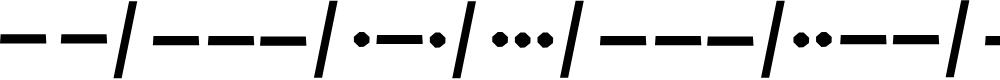 Preview image for Morso kode Font