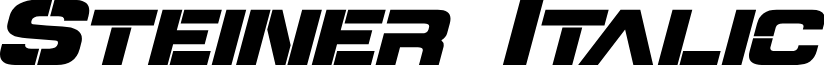 Steiner Italic