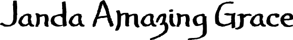 Preview image for Janda Amazing Grace Font