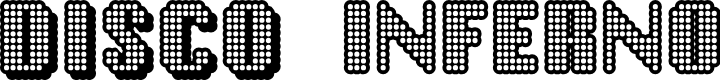 Preview image for Disco Inferno Font