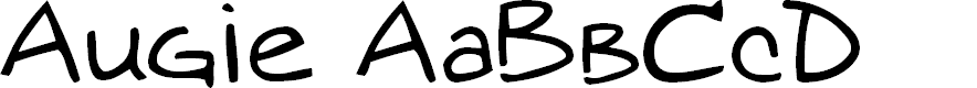Preview image for augie Font