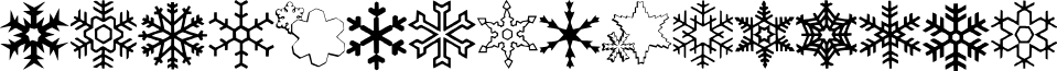 ryp_sflake7 font