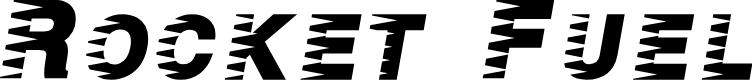 Preview image for Rocket Fuel Font