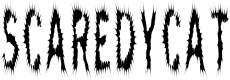 Preview image for ScaredyCat Font