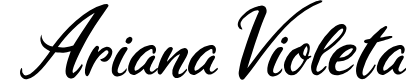 Preview image for  Ariana Violeta Font
