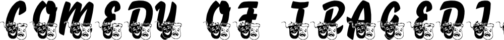 Preview image for LMS Comedy of Tragedies Font