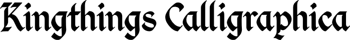 Preview image for Kingthings Calligraphica