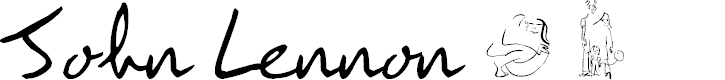 Preview image for JohnLennon Font