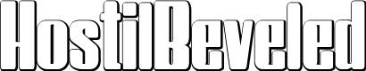 Preview image for HostilBeveled Font