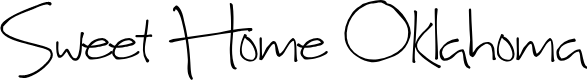 Preview image for Sweet Home Oklahoma Font