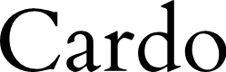 Preview image for Cardo Font