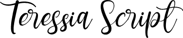 Preview image for Teressia Script Font