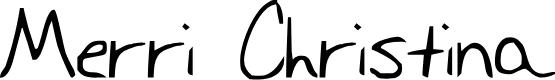Preview image for Merri Christina Bold Font