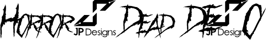 Preview image for Horror & Dead DEMO Font