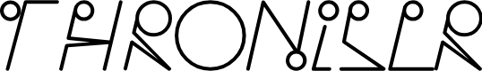 Preview image for Throniser Font