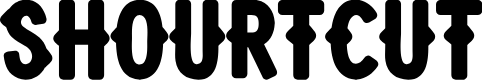Preview image for Shourtcut Font