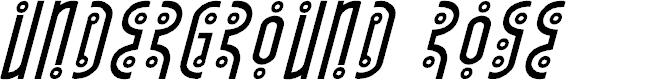 Preview image for Underground Rose Super-Italic
