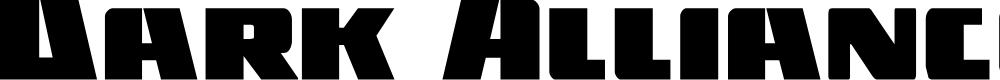 Preview image for Dark Alliance Regular Font