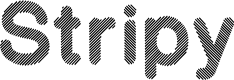 Preview image for Stripy-Reg Font