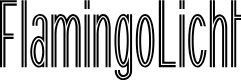 Preview image for FlamingoLicht Font