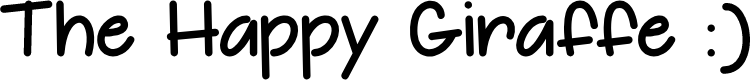 Preview image for The Happy Giraffe Demo Font