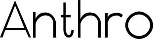 Preview image for Anthro Font