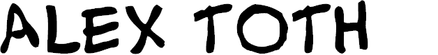 Preview image for Alex Toth Font