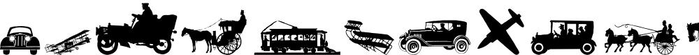 Preview image for TransportationDings Font