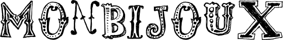Preview image for monbijoux Font