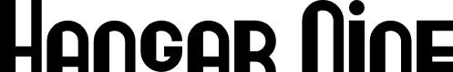 Preview image for Hangar Nine Font